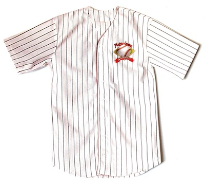 Baseball Shirt Scrapbooking Die Cut