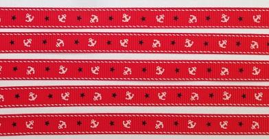 Cruise Red Scrapbooking Ribbon