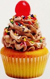 Cupcake Scrapbooking Die Cut