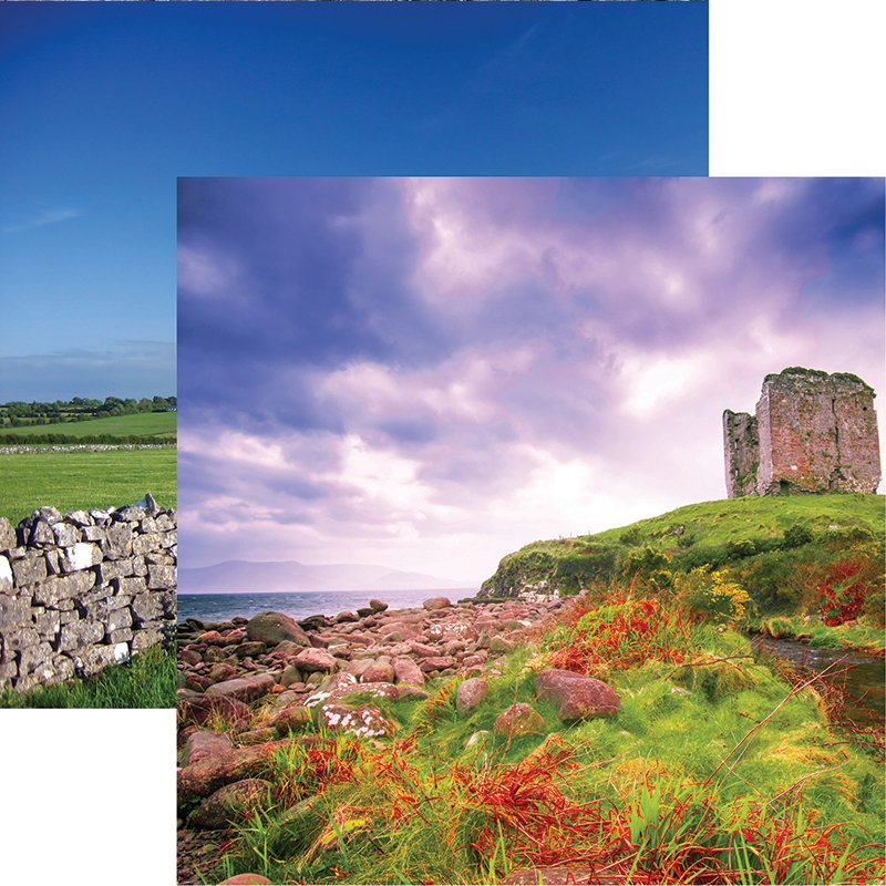 Dingle Peninsula 12x12 Double Sided Scrapbooking Paper