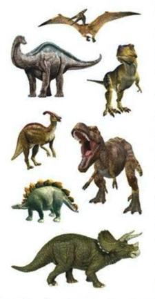 Dinosaurs Scrapbooking Mini Stickers