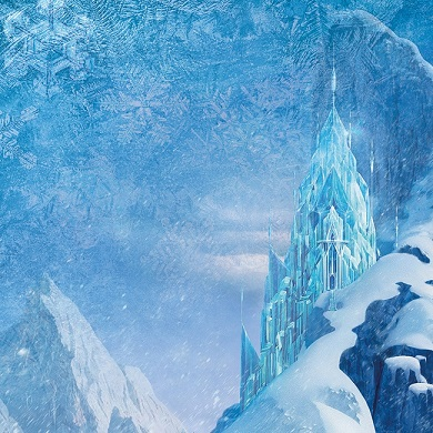Disney Frozen Let It Go 12x12 Scrapbooking Paper