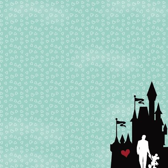 Disney Scrapbooking Paper Mickey Mouse Stickers Disneyland