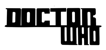 Doctor Who Scrapbooking Laser Cut Title