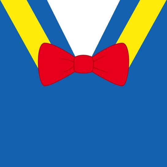 Donald Duck Character 12x12 Scrapbooking Paper