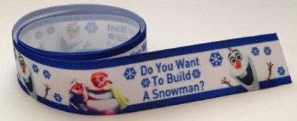 Do you want to Build a Snowman Scrapbooking Ribbon