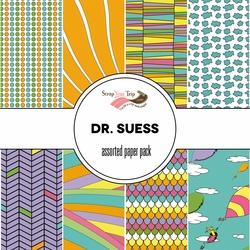 Dr Seuss 12x12 Scrapbooking Paper Pack