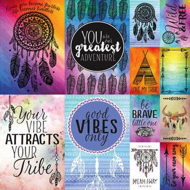 Dreamcatcher 12x12 Cardstock Scrapbooking Stickers