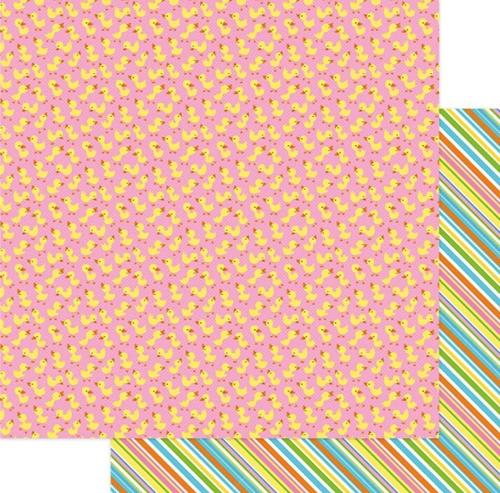 Duck Duck Goose Double Sided 12x12 Scrapbooking Paper