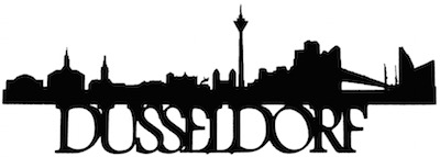 Dussledorf Scrapbooking Laser Cut Title With Skyline
