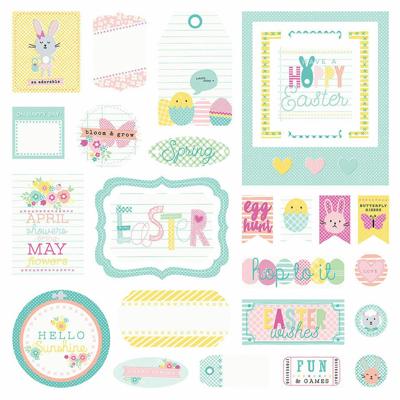 Easter Blessings Ephemera