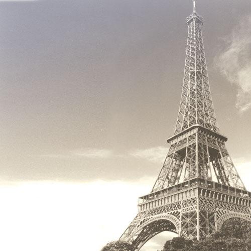Eiffel Tower 12x12 Scrapbooking Paper