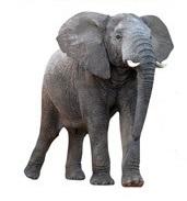 Elephant Die Cut Scrapbooking Sticker