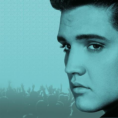 The King Elvis 12x12 Scrapbooking Paper