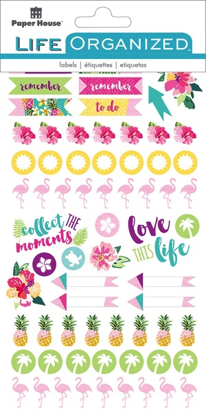 Embrace Today Scrapbooking Sticker Multi Pack - 4 Sheets