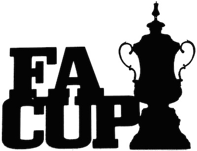 FA Cup Scrapbooking Laser Cut Title with Cup