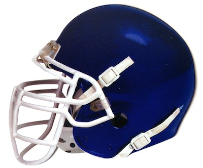 Amercian Football Helmet Scrapbooking Die Cut