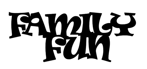 Family Fun Scrapbooking Laser Cut Title