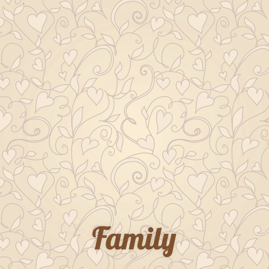 Family 12x12 Scrapbooking Paper