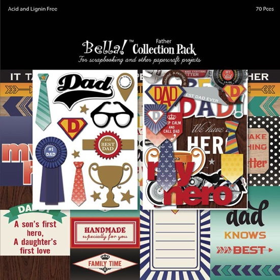 Father Scrapbooking Collection Pack