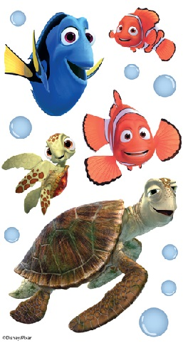 Finding Nemo 3D Disney Scrapbooking Stickers