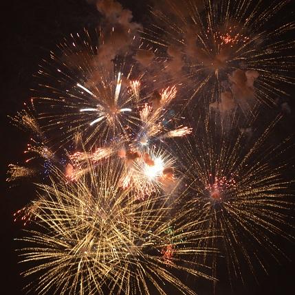 Fireworks 12x12 Scrapbooking Paper