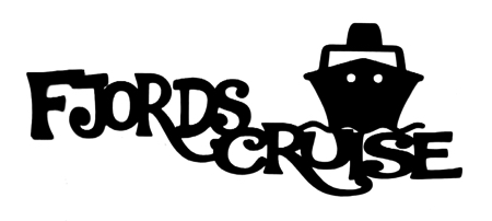 Fjords Cruise Scrapbooking Laser Cut Title with Ship