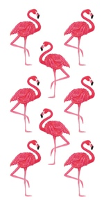 Flamingo Scrapbooking Mini Stickers