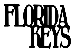Florida Keys Scrapbooking Laser Cut Title