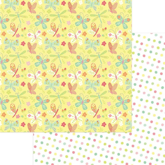Flutter 12x12 Double Sided Scrapbooking Paper