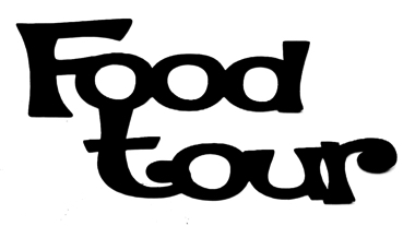 Food Tour Scrapbooking Laser Cut Title