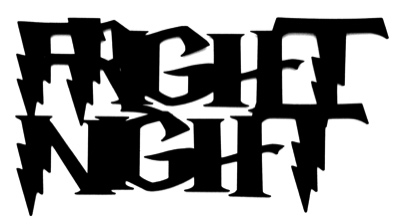 Fright Night Scrapbooking Laser Cut Title