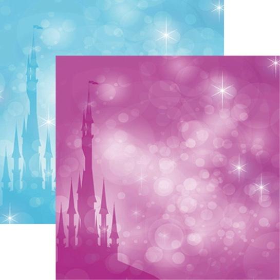 Frost Castle 12x12 Scrapbooking Paper