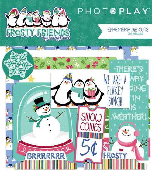 Frosty Friends Scrapbooking Ephemera