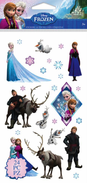 Frozen Disney Scrapbooking Stickers