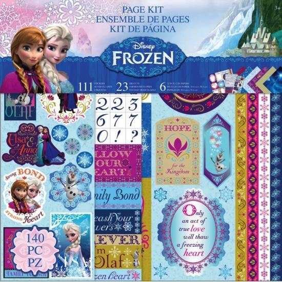 Frozen Scrapbooking Kit