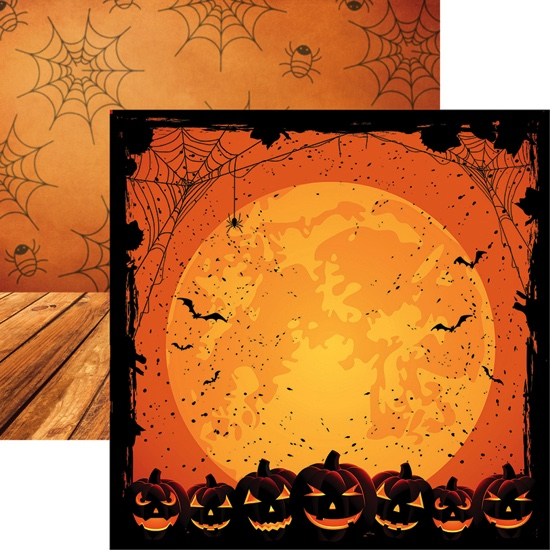 Full Moon 12x12 Double Sided Scrapbooking Paper