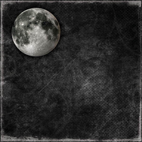 Full Moon 12x12 Scrapbooking Paper