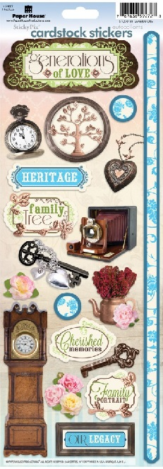 Generations Cardstock Scrapbooking Stickers
