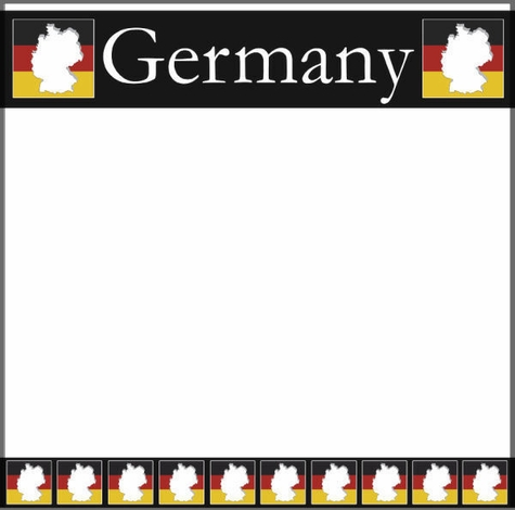 Germany 12x12 Scrapbooking Paper