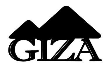Giza Scrapbooking Laser Cut Title with Pyramids