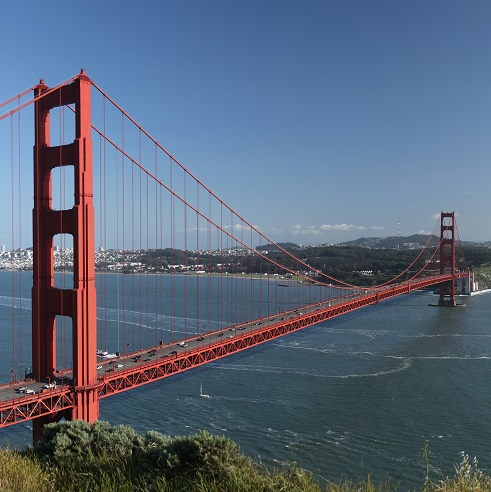 Golden Gate Bridge 12x12 Scrapbooking Paper