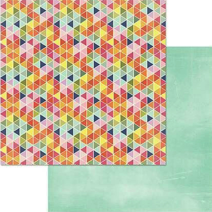 Good Vibes Double Sided 12x12 Scrapbooking Paper