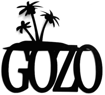 Gozo Scrapbooking Laser Cut Title with Palms