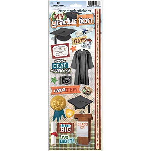 Graduation Cardstock Scrapbooking Stickers