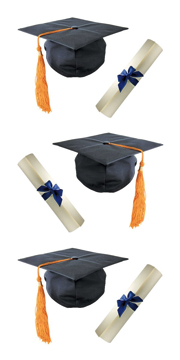 Graduation Scrapbooking Mini Stickers