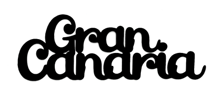 Gran Canaria Scrapbooking Laser Cut Title with Dolphin & Palm