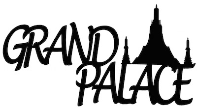 Grand Palace Scrapbooking Laser Cut Title with Palace
