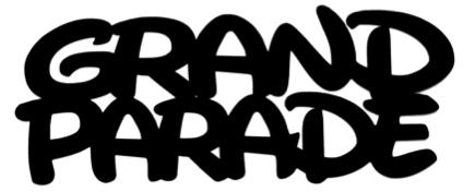 Grand Parade Scrapbooking Laser Cut Title