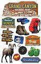 Grand Canyon 3D Scrapbooking Stickers